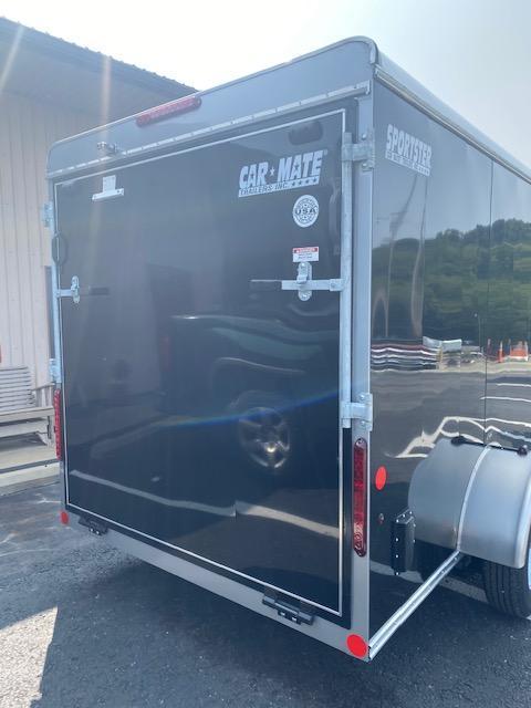 2021 Car Mate Trailers CM612ECV Enclosed Cargo Trailer - Black