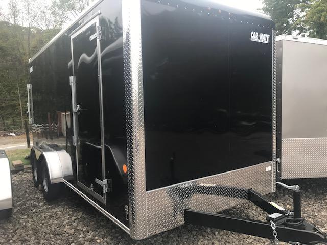 2019 Car Mate Trailers CM716CC-HD - 7W Tandem Axle Custom Cargo Trailer Enclosed Cargo Trailer