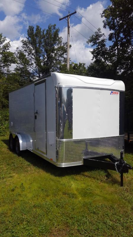 Pace American PXT Extreme Motorcycle Trailer 7 x 16