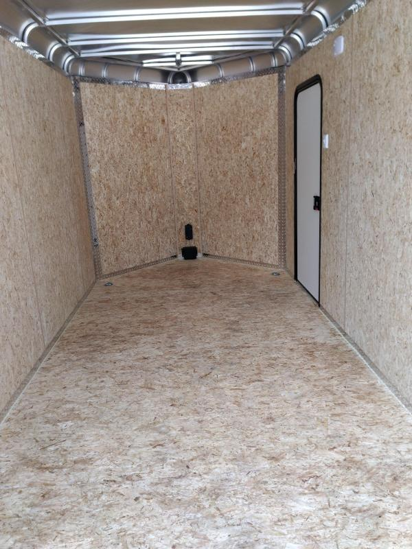 Legend Trailers 717DVN Aluminum Motorcycle  Enclosed Cargo Trailer