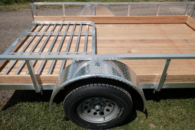 Legend Open Aluminum Landscape UtilityTrailer 6 x 12