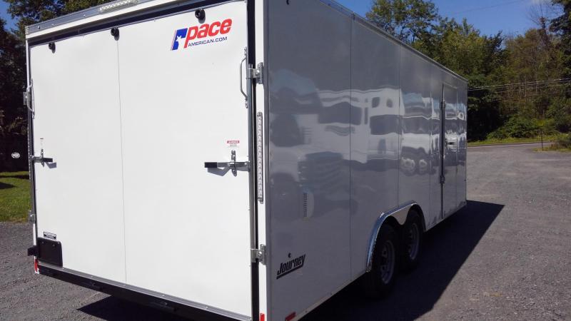 Pace American Journey SE 8.5 x 20 Enclosed Race Car Trailer