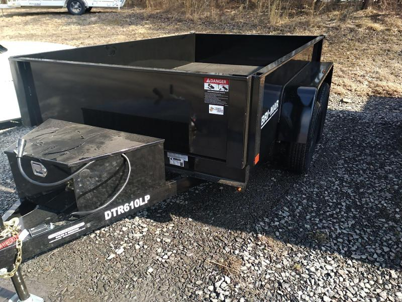 Bri-Mar DTR610LP-7 Dump Trailer