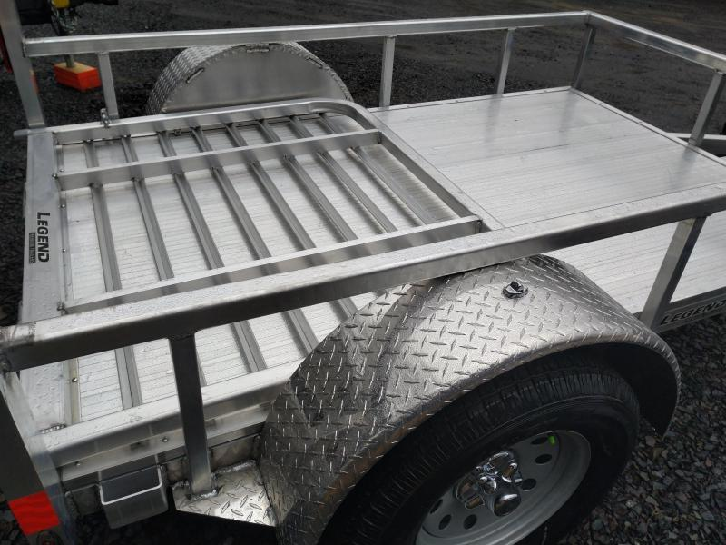 Legend Aluminum ATV Motorcycle Trailer 5 x 8