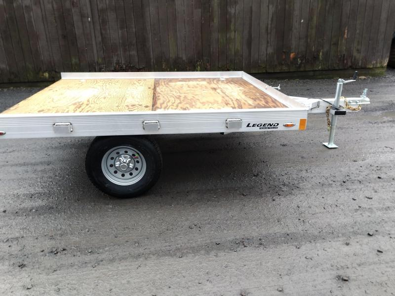 Legend Aluminum ATV Trailer 7x 8