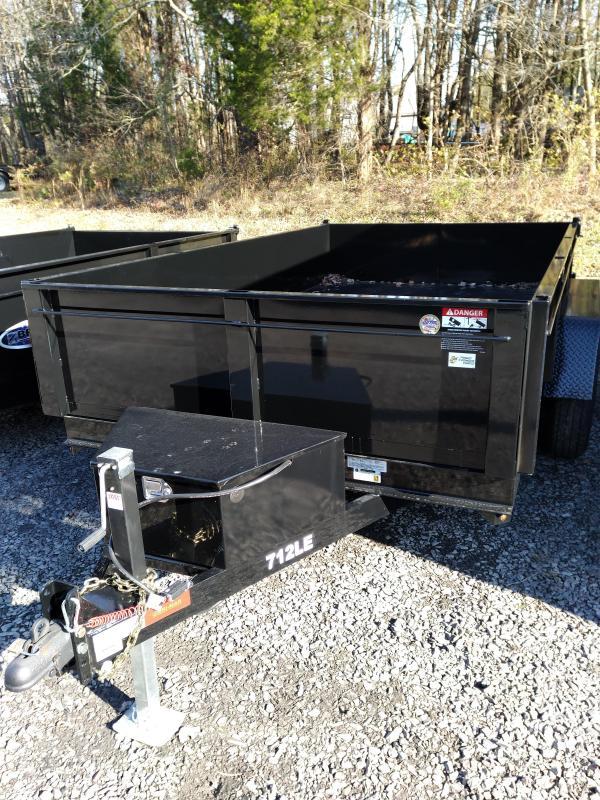 BriMar DT712LP-LE-12  Dump Trailer