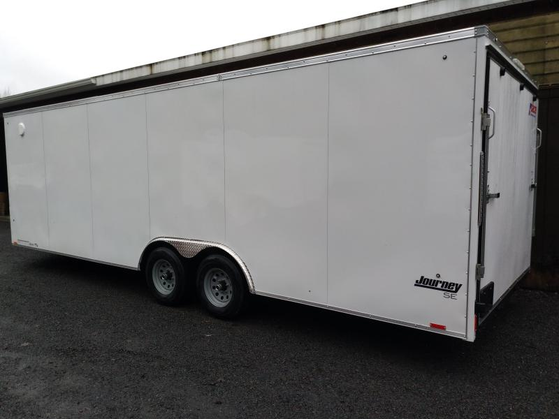 Pace American Journey Enclosed Race Car Trailer 8.5 x 24 with 9900lbs GVWR