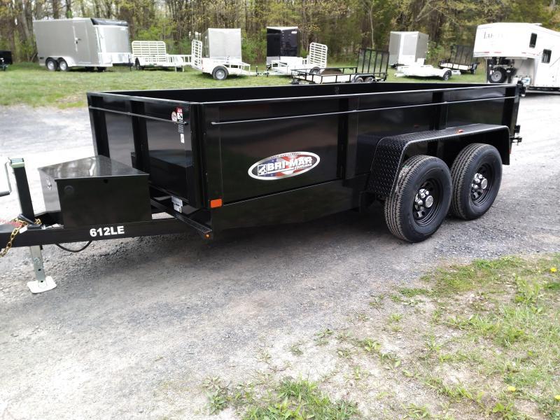BriMar DT612LP-LE-10  Dump Trailer