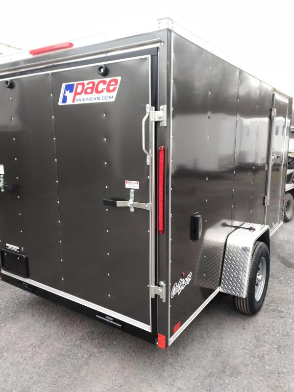 Pace American Outback Deluxe Motorcycle Trailer 6 x 12
