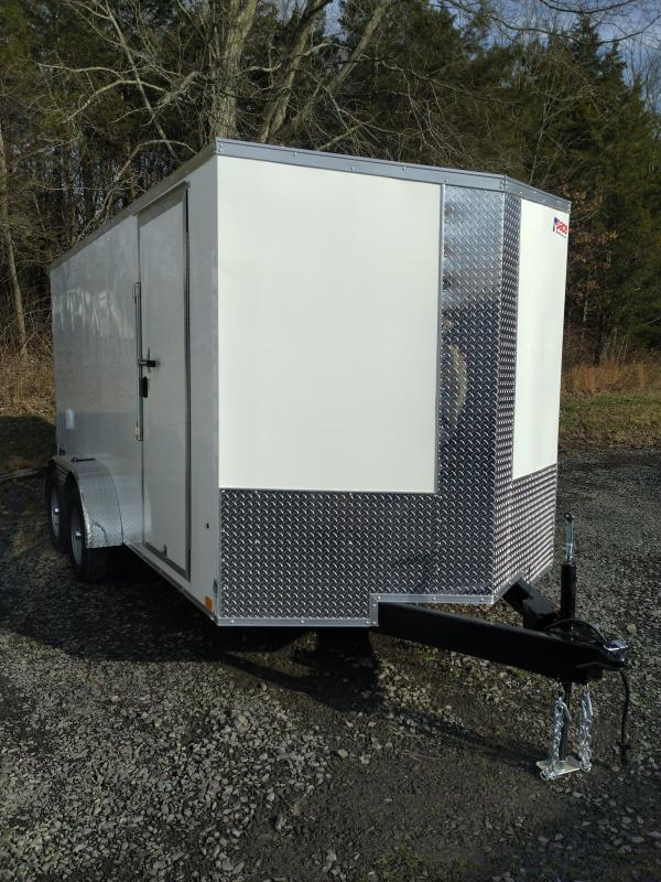 Pace American Journey SE Enclosed Motorcycle Trailer 7 x 14