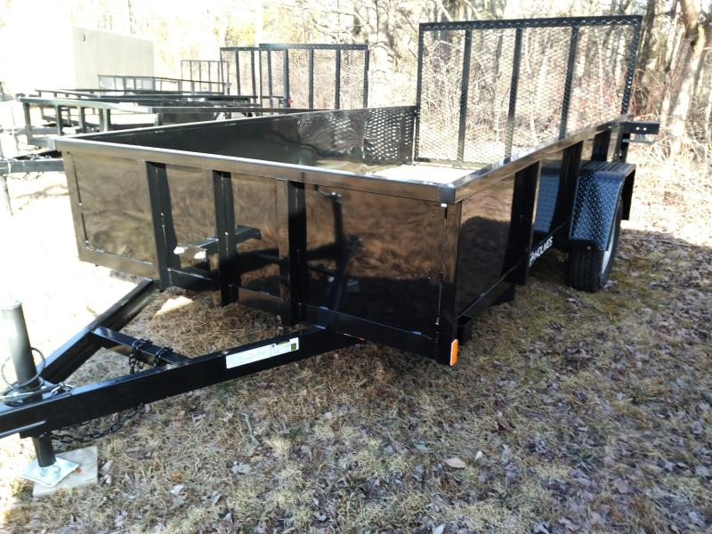 Holmes C6X12P3.5K Solid side Open Landscape Trailer