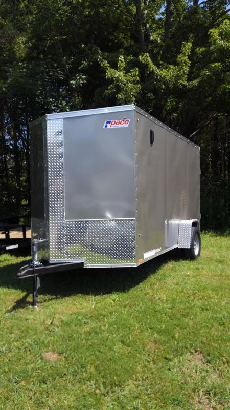 Pace American Journey SE Enclosed MOTORCYCLE Trailer 6 x 12