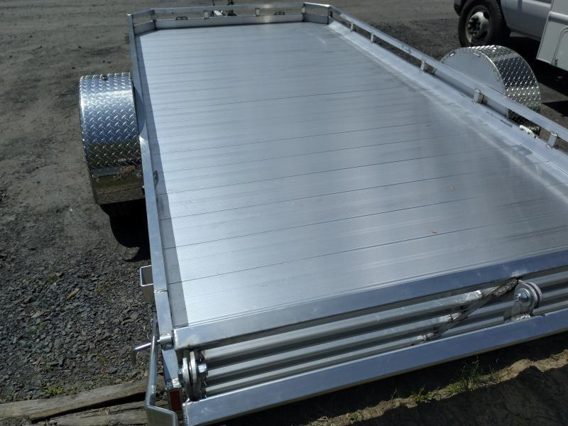 Legend Open Aluminum ATV Trailer 7 x 14