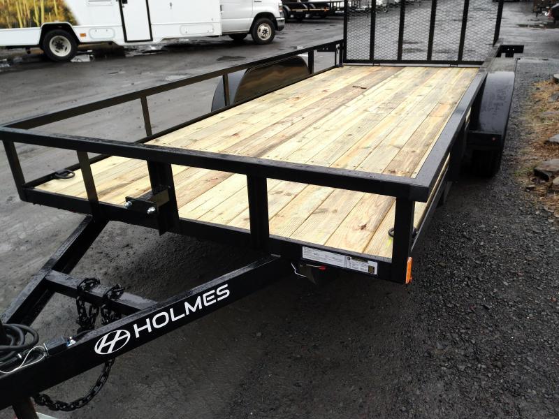 Holmes R6X16R7K Utility Open Landscape Trailer