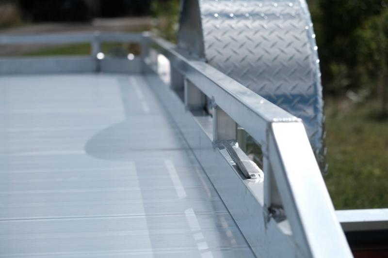 Legend Open Aluminum Tilt Trailer 7 x 12