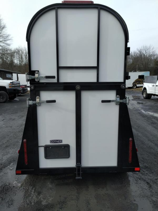 Cotner Trailers Lone Star Single Horse Trailer