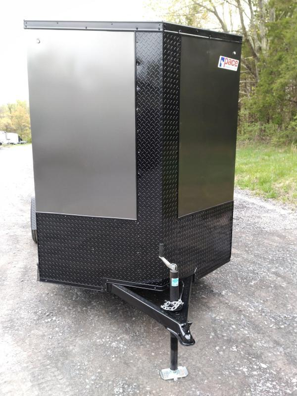 Pace American Journey SE Cargo / Enclosed/ Motorcycle Trailer 6 x 12