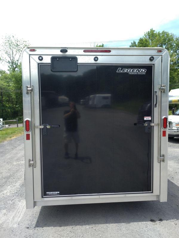 Legend Trailers 717DVN Aluminum Enclosed Cargo Trailer