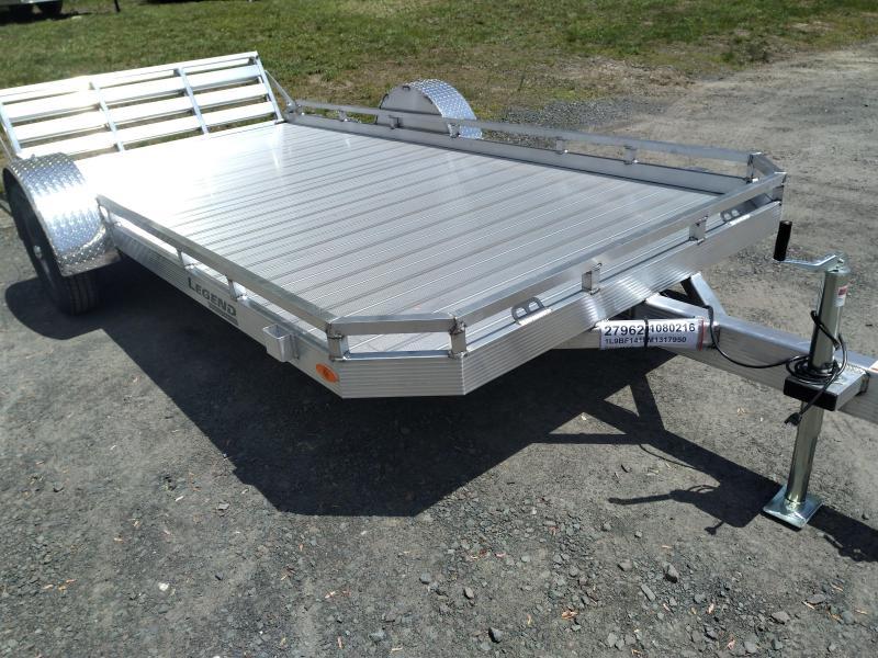 Legend Open Aluminum Landscape UtilityTrailer 7 x 14