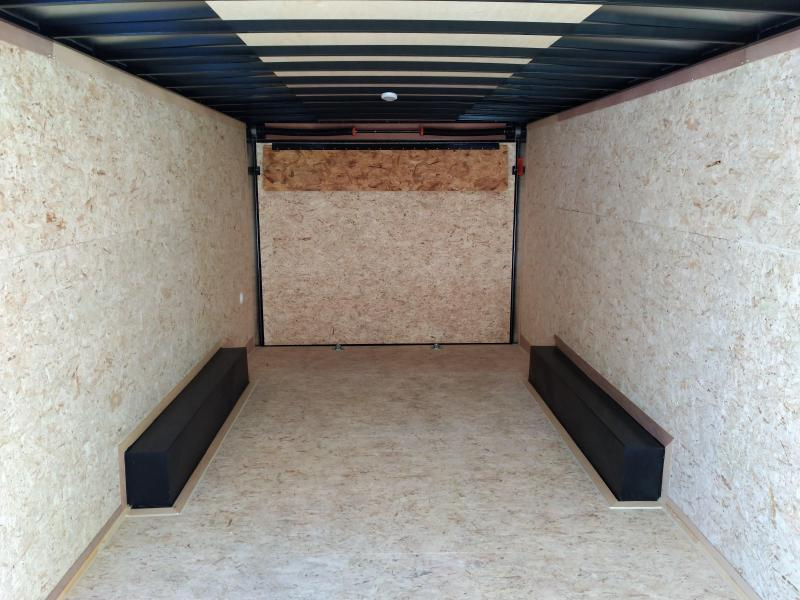 Pace American Journey SE Enclosed Cargo Trailer 8.5 x 20 with 9900lbs GVWR
