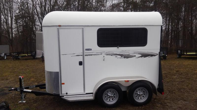Cotner Trailers SQUIRE Two Horse Trailer