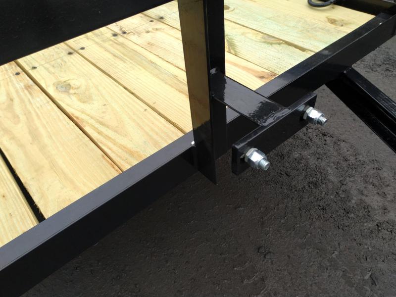 Holmes R6X14R7K Utility Open Landscape Trailer