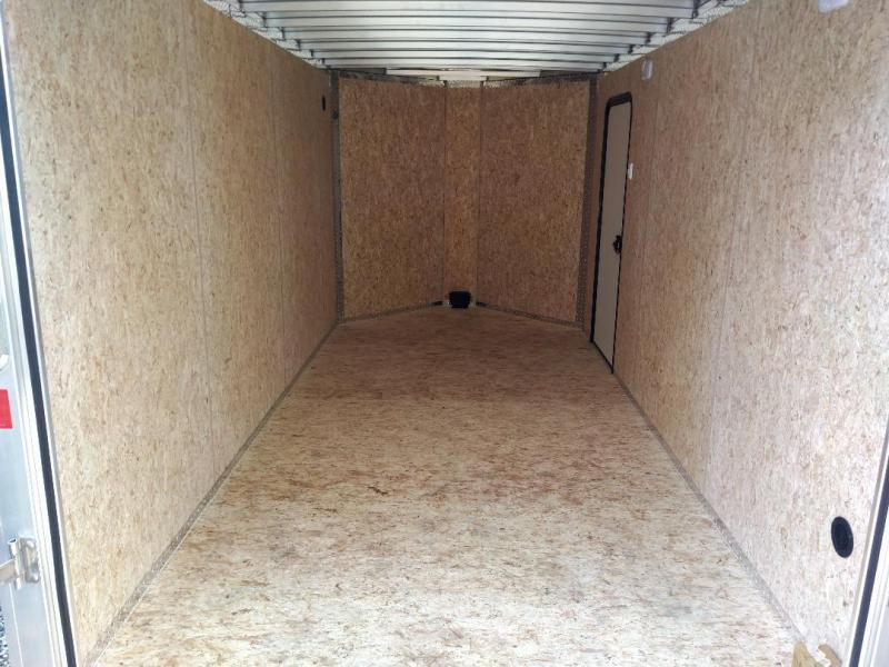 Legend Trailers 717DVN Aluminum Enclosed Cargo Trailer