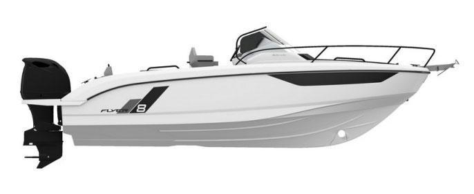 2022 Beneteau Flyer 8 SUNdeck Power Boat