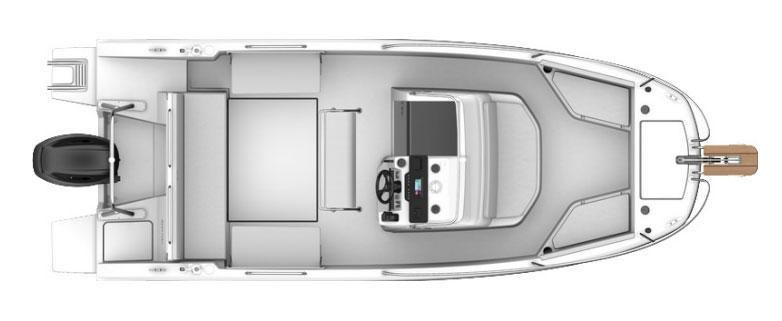 2021 Beneteau Flyer Flyer 7 SPACEdeck Power Boat