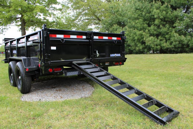 "Load Trail 83"" x 16' Dump Trailer"