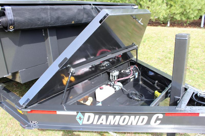 Diamond C LPD Dump Trailer 7' x 14'