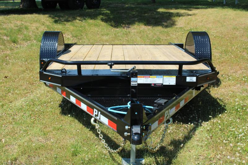 "PJ Trailers 81"" x 13' Single Axle HD Tilt (T1) Equipment Trailer"
