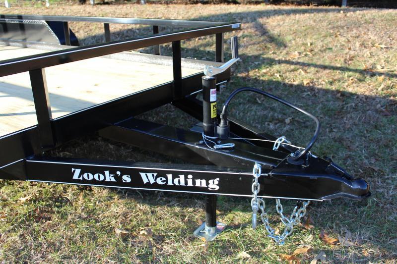 Zook's Welding Landscape Trailer 7' x 16'