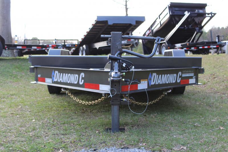 """Diamond C HDT Equipment Tilt Trailer 82"""" x 20'"""