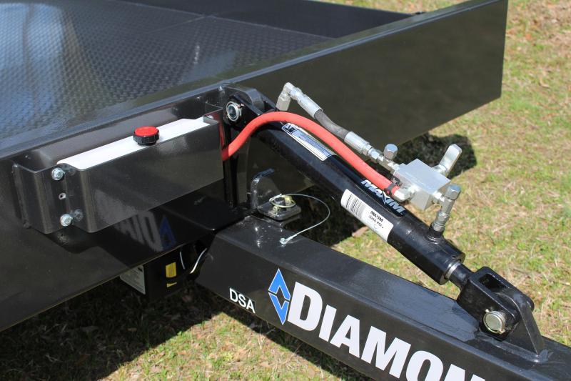 """Diamond C Tilt DSA Equipment Trailer 59"""" x 12'"""