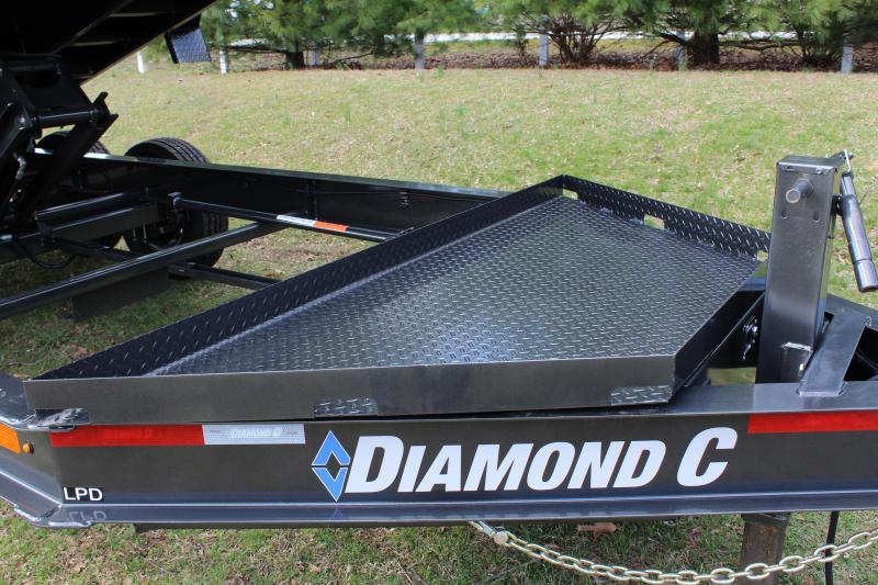 "Diamond C LPD 44"" High Side Dump Trailer 7' x 14'"