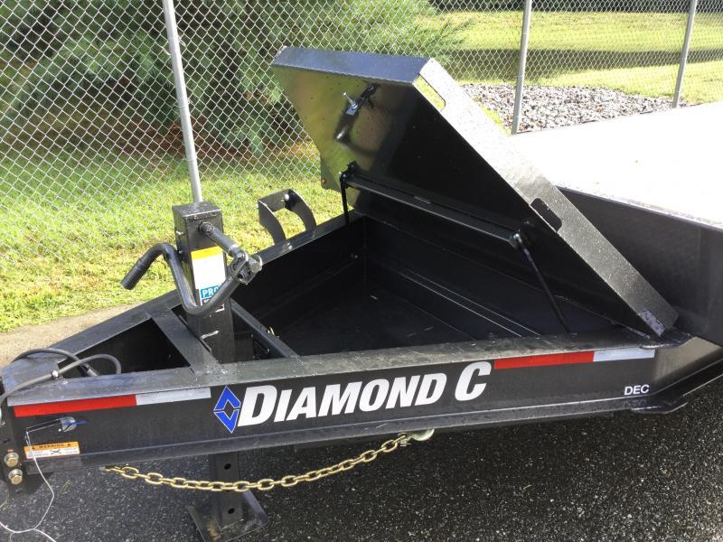 "Diamond C DEC 102"" x 22' Deckover Trailer"