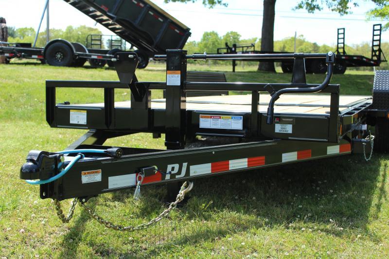"""PJ Trailers 83"""" x 20' Equipment Tilt (T6)"""