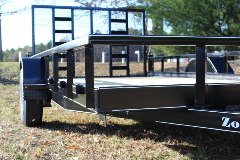 Zook's Welding Utility Trailer 7' x 14' Single Axle
