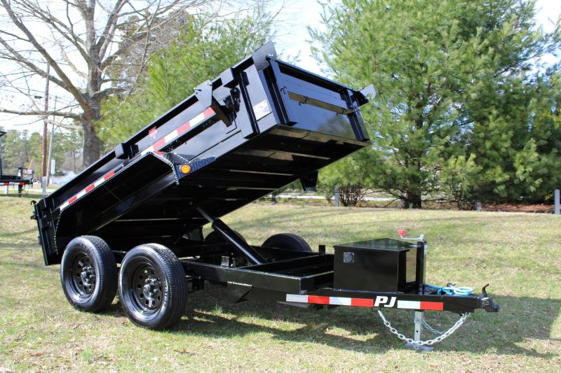 "PJ Trailers 60"" Utility Dump (D5) 10' Tandem"
