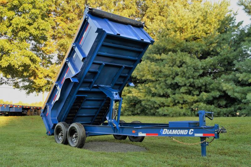 2022 Diamond C Trailers LPD Dump Trailer