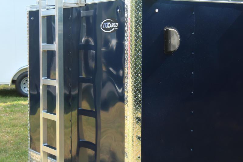 2021 Integrity Trailers Enclosed 7X14 Contractor Trailer Enclosed Cargo Trailer