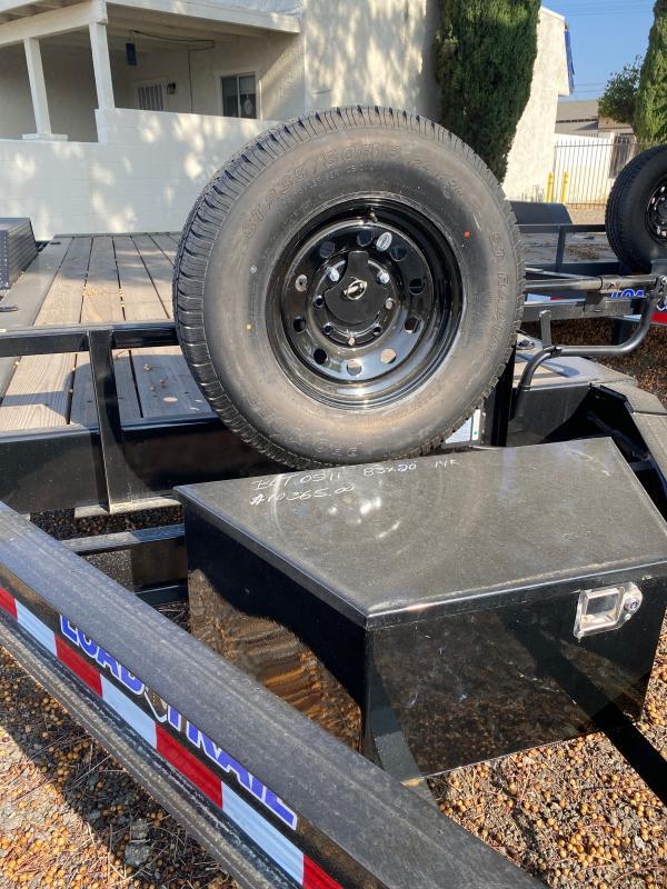 """2021 Load Trail TH14 - Tilt-N-Go Tilt Deck 14000 Lb. w/8"""" I-Beam Frame Equipment Trailer"""