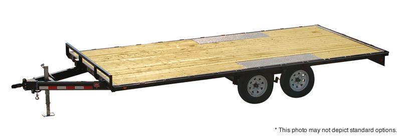 "2021 PJ Trailers 16' Med. Duty Deckover 6"" Channel Trailer"