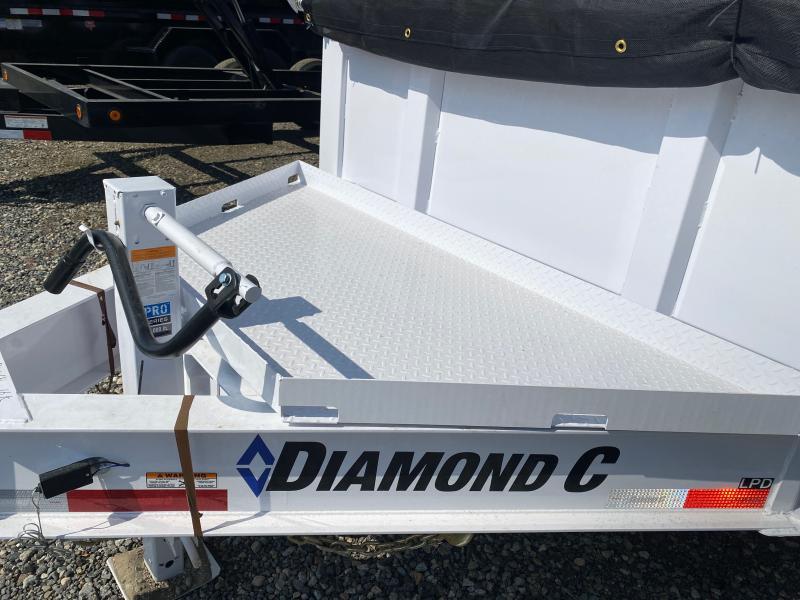 2021 Diamond C Trailers LPD Dump Trailer