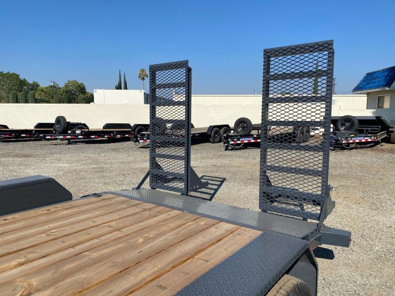 2021 Lamar Trailers 83x16 H627 Equipment Trailer