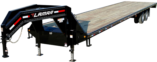 2018 Lamar Trailers 30K Extreme Duty Deck-Over Flatbed (FG)