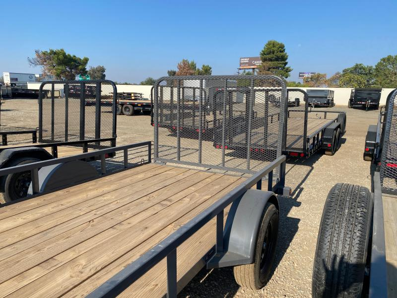 2021 Load Trail SE03 - Single Axle Landscape 77 x 12 Utility Trailer