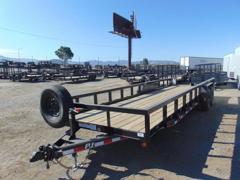 2021 PJ Trailers 83X26 Equipment Trailer