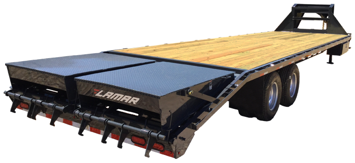 2021 Lamar Trailers Extreme Duty Deck-Over Flatbed (FD)
